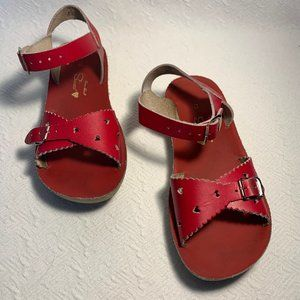 Little Girl Adorable Saltwater by Hoy Sandals